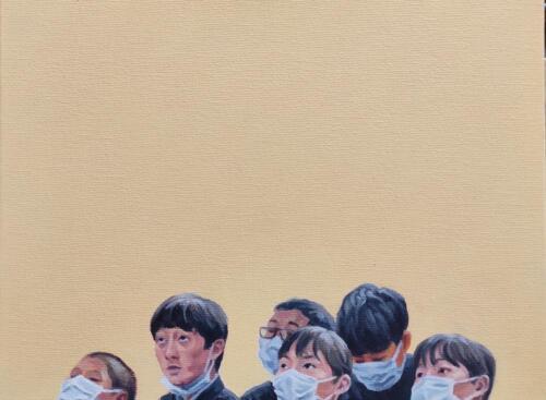 School 2020 (Berna Gulbey) 23-30cm oil on canvas